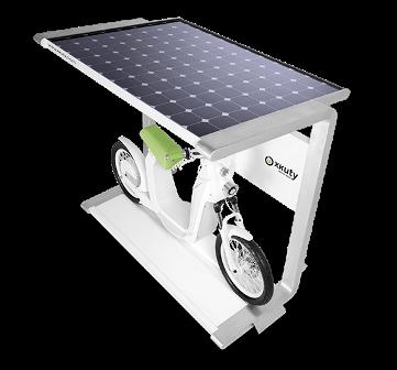 солнечная электростанция для электровелосипеда