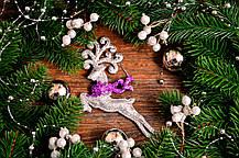 Новогоднее украшение Олень микс 0138, фото 2