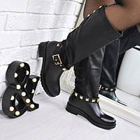 Сапоги резиновые Melody черные 3765, осенняя обувь