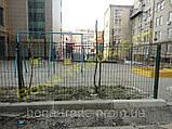Прочная заборная сетка для спортивных площадок, фото 2