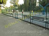 Прочная заборная сетка для спортивных площадок, фото 3