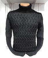 Свитер-гольф зимний Lee'Ecosse пол-замка, модель № 40214 003/ купить оптом свитер зимний