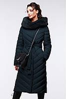 Модное стеганое  пальто приталенного кроя 44-58р