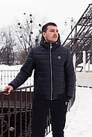 Мужская куртка зима Philipp Plein с капюшоном