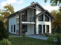 """Пакет строительства дома под ключ  """"Семейный"""""""