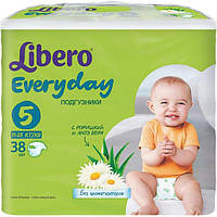 Подгузники Libero Everyday Natural Extra Large 11-38 кг 38 шт N51306273