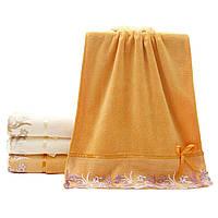 """Комплект махровых полотенец """"Эндри"""". Полотенце банное и лицевое. Махровые полотенца, микрофибра"""