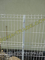 Прочная заборная сетка для дачи в полимерном покрытии