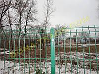 Прочная заборная сетка для дачи