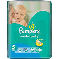 Подгузники Pampers Active Baby-Dry Junior 11-18 кг 42 шт N51306605
