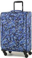 Женский чемодан с цветочным принтом 58 л Members Vogue M, Flower, 92408