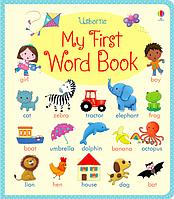 Английский для самых маленьких, пособие для изучения английского языка, Моя первая книга английских слов
