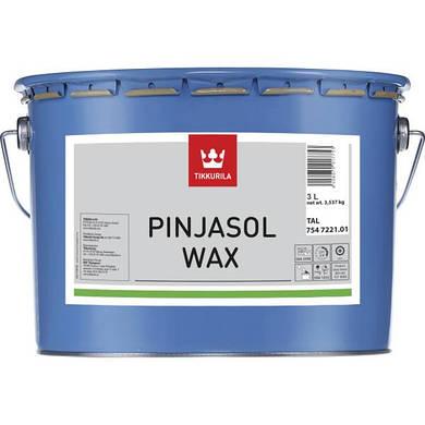 Декоративная пропитка-антисептик Tikkurila Pinjasol Wax Тик 3л