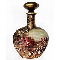 Подарок охотнику на новый год день рождения юбилей Декор бутылки «Английская охота»