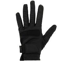 Перчатки для верховой езды Grippy Fouganza черные