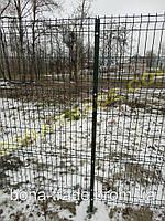 Панельный забор из сварной сетки