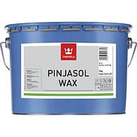 Декоративная пропитка-антисептик Tikkurila Pinjasol Wax Серый 3л