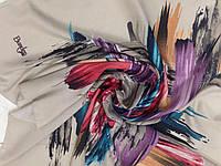 Кашемировый  платок с абстрактным рисунком 96см