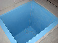 Прямоугольные купели для бань 8