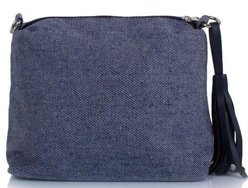 Интересная сумка-клатч женская ETERNO ETZG08-17, 27*18*10 см, цвет серый.