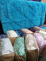 Одеяло покрывало с наполнителем  исскуственный мех