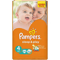 Подгузники Pampers Sleep & Play Maxi Jumbo 7-14 кг 68 шт N51306117