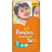 Подгузники Pampers Sleep & Play Junior Jumbo 11-18 кг 58 шт N51306118