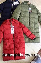 Куртки на меху для девочек Grace 4-12 лет
