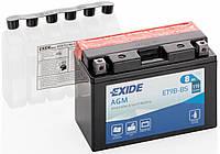 Аккумулятор для мотоцикла Exide ET9B-BS = YT9B-BS