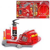 Детский Игровой Набор Пожарника 9905 A, Игрушечный Набор Пожарника 9905