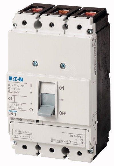 Силовой выключатель нагрузки LN1-160-I (Eaton) (111997)