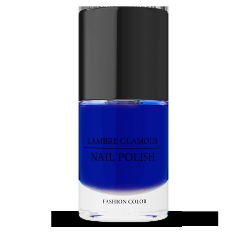 Лак синий Glamour Nails 10 ml