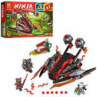 """Конструктор Bela Ninja 10580 """"Алый захватчик"""", 331 деталь"""