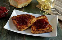 Хлебные гренки с сыром