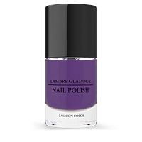 Лак Glamour Nails 10 ml слива