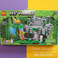 Конструктор Minecraft Храм в джунглях 604 детали