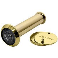 Глазок дверной Bruno G-096B полированная латунь