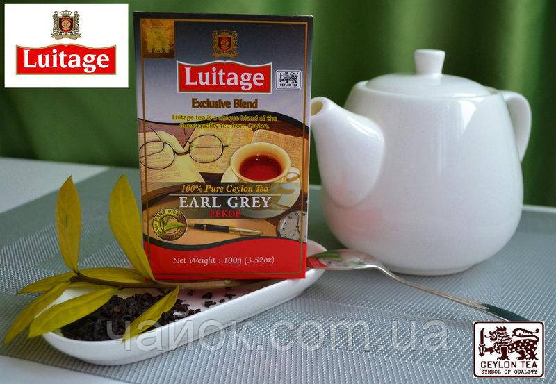 Чай Луитаж LUITAGE Граф Грэй 100 гр