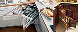 Пластиковый органайзер для столовых приборов на 5 отсеков, фото 6
