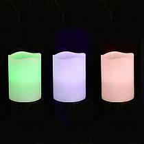 Свічка Yes! Fun воскова LED 7.5*10 Хамелеон 710351