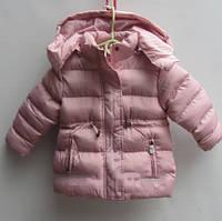 Куртка детская зимняя утепленная на меху 3-8 лет.