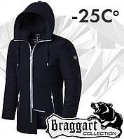 Braggart 'Black Diamond'. Парка зимняя 9018 черная