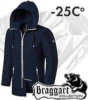 Braggart 'Black Diamond'. Парка зимняя 9018 темно-синяя