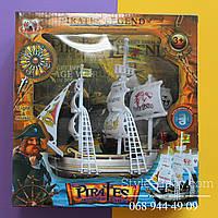 Пиратский корабль игровой набор в коробке 24*8*25 см