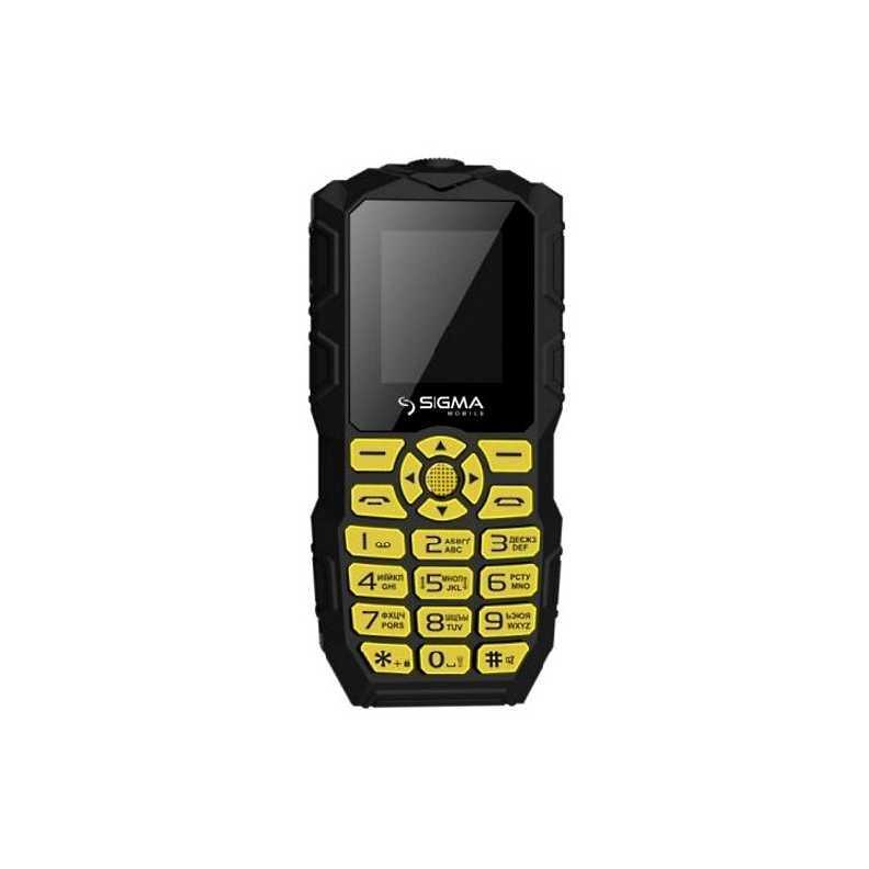 Непотопляемый кнопочный телефон поплавок мечта рыбака Sigma Х-treme IO68 Bobber