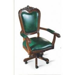 Вращат стул с подлокот /кожа/ Royal