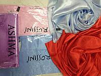 Платки  шелковые  цвета в ассортименте 95см