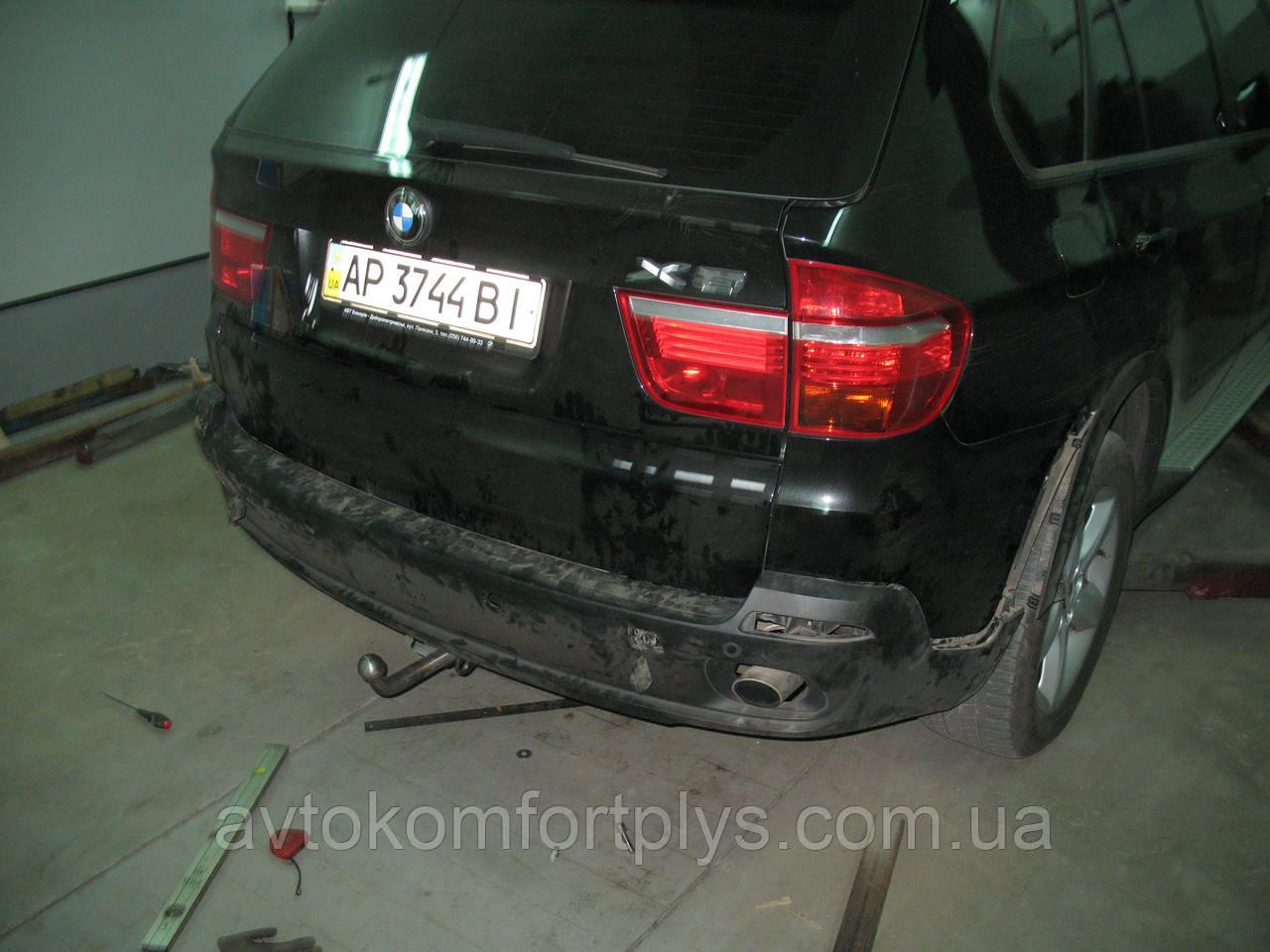 Фаркоп условно-съемный (ТСУ, тягово-сцепное устройство) BMW X5 (БМВ) (Полигон-Авто)