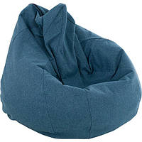 Кресло-мешок Marbet Malaga M №18 160 л синее
