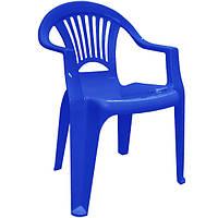 Стул пластиковый Луч синий